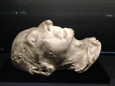 Chopin Death Mask Photo by Maja Trochimczyk