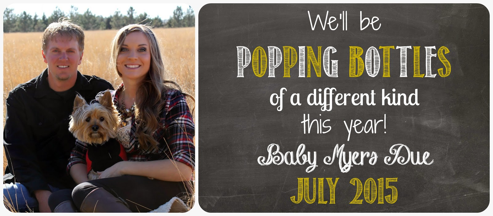 new years eve baby announcement, new years day baby annoucement, popping bottles announcement