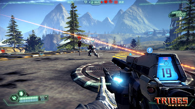 Tribes Ascend Превью MMOFPS игры