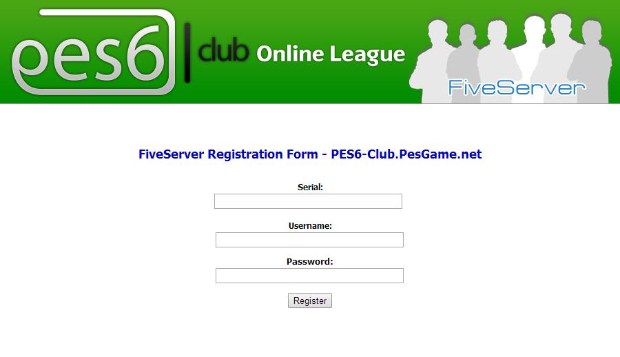 طريقة لعب pes6 اونلاين عبر سيرفر fiveserver 2014-03-31_19-37-08
