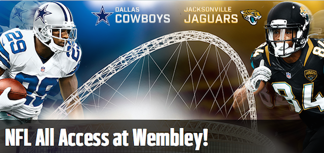 NFL All Access at Wembley