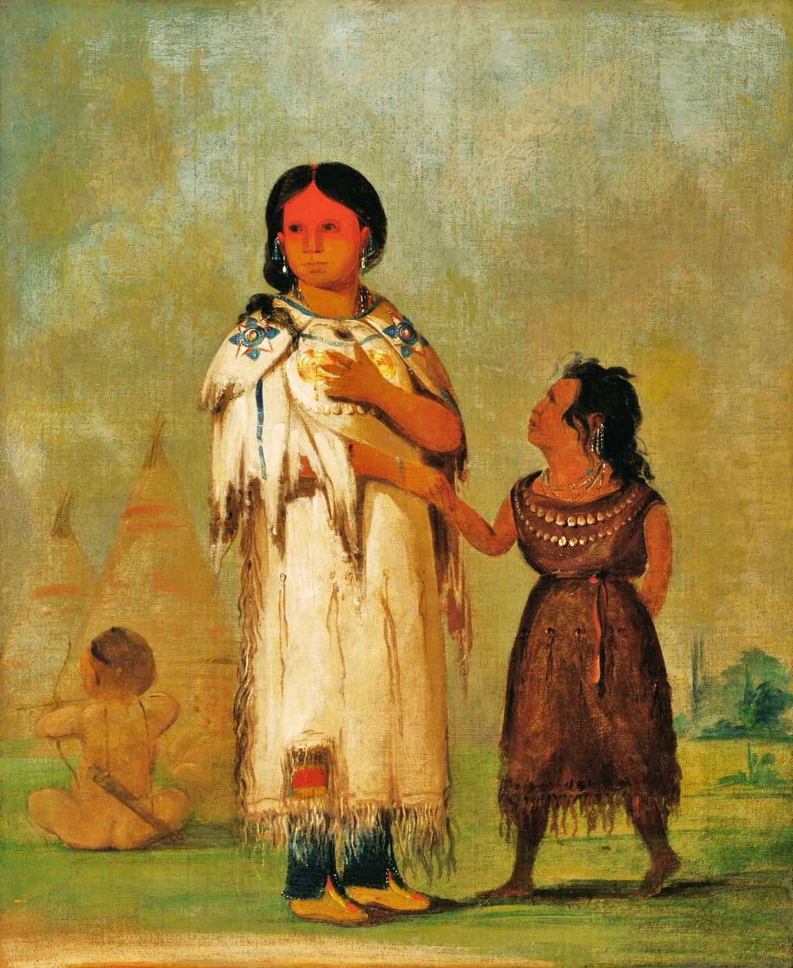 Native American Women Artists George catlin  american artistNative American Women Artists