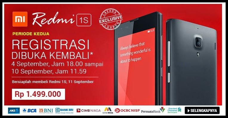Tertunda untuk Mendapatkan Xiaomi RedMi 1S