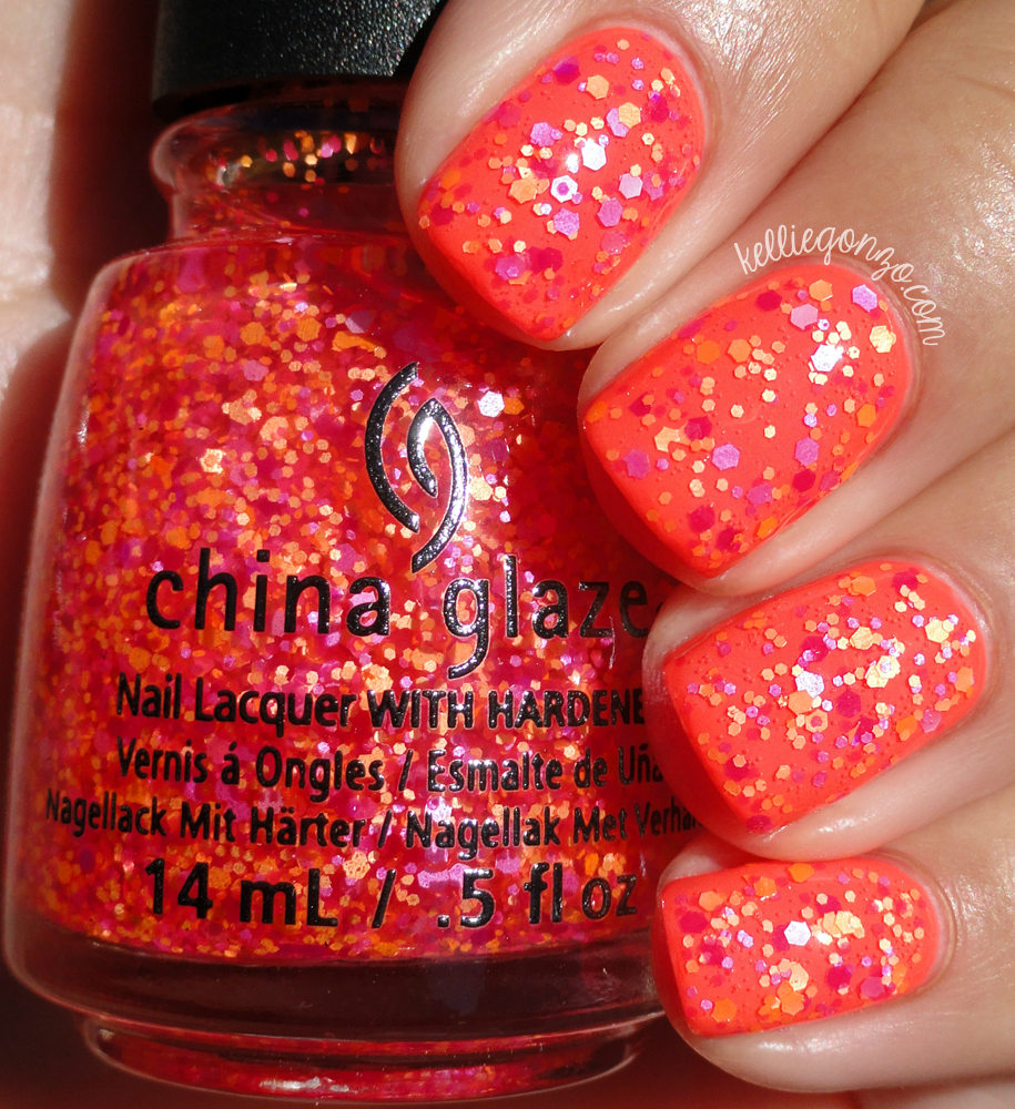 China Glaze Let the Beat Drop Electric Nights