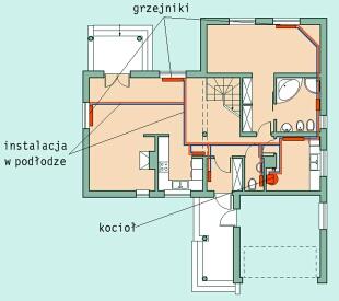 Koszt instalacji centralnego ogrzewania w domu 100m2