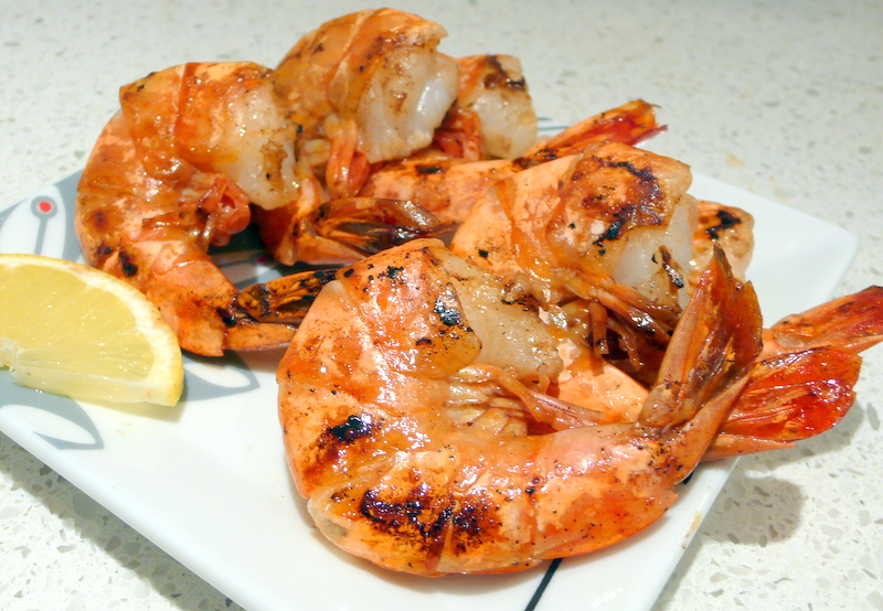Gambas a la plancha 39 grilled king prawns 39 easy authentic for Cuisine 0 la plancha