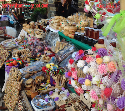 shopping di ottoman village, bursa