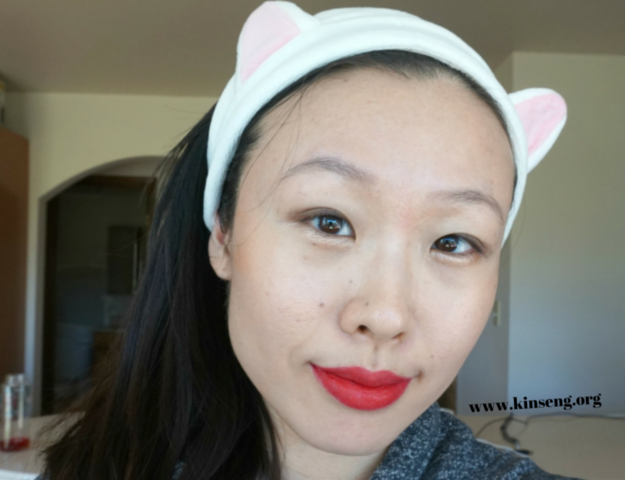 Son and Park Lip Crayon Flash Red review swatch, Milani Nail Lacquer in 28A Just Grayt review swatch, It's Skin Cookie and Hand Cream in Mint review ingredients, Becca Shimmering Skin Perfector Pressed Poured in Opal review swatch, Sheet mask reviews.