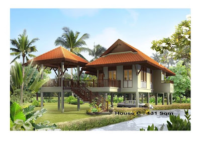Thailand house designs james bond and the secret of for Home designs thailand