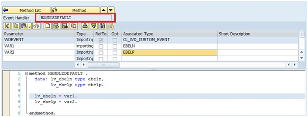 How to read url parameters in Web Dynpro ABAP
