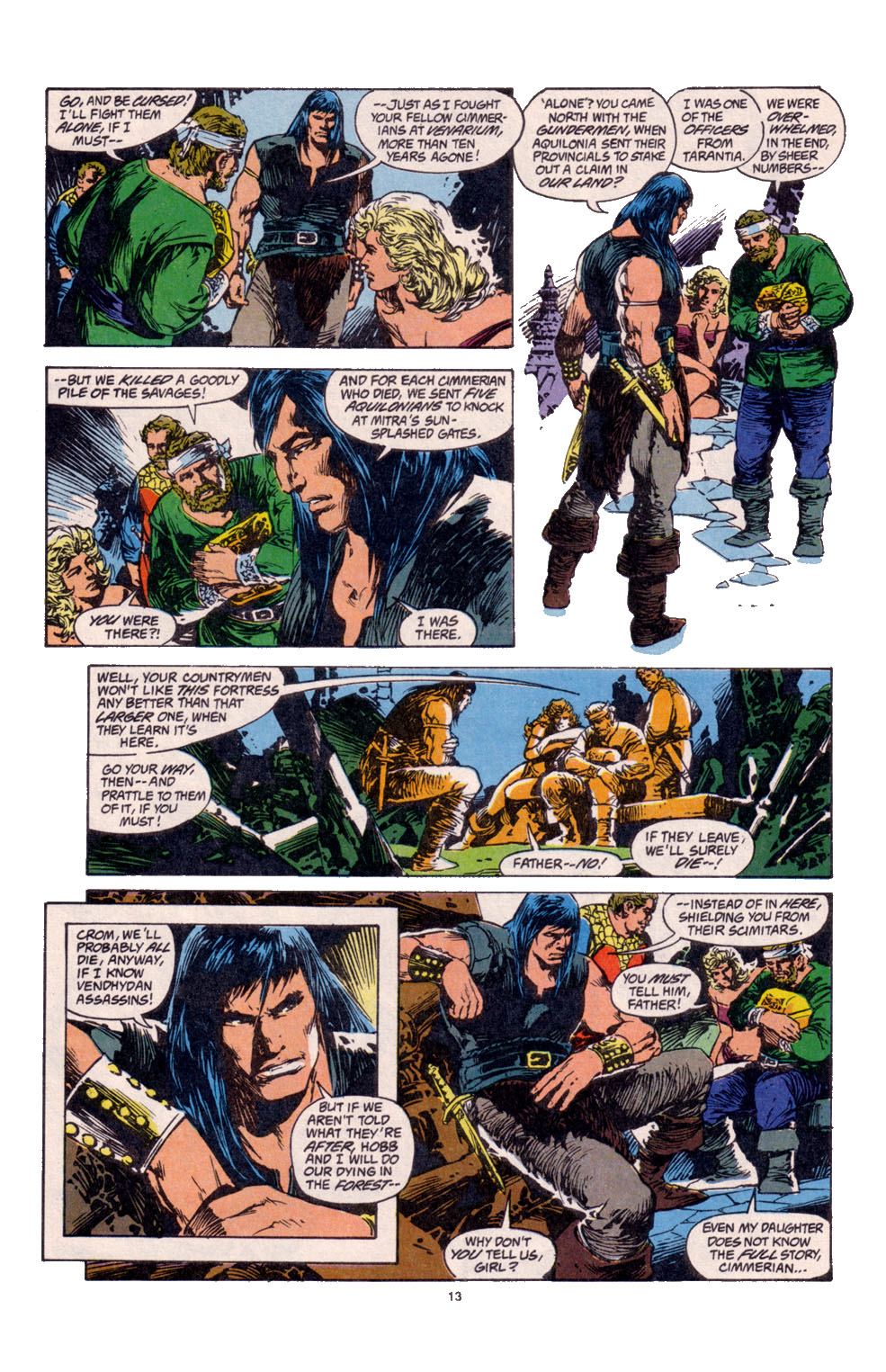 Conan the Barbarian (1970) Issue #261 #273 - English 11