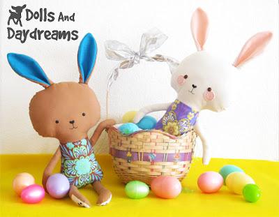 Let's Sew a RevoluzZzionary Easter Bunny   RevoluzZza