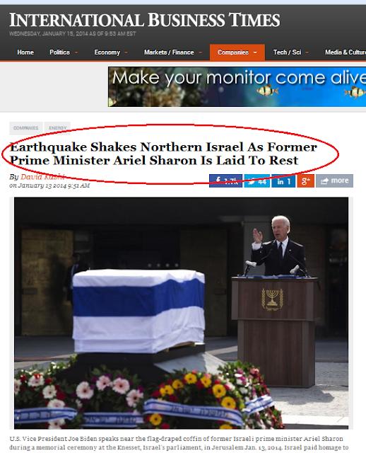Tahukah Anda Bumi Bergegar Ketika Ariel Sharon Hendak Dikebumikan