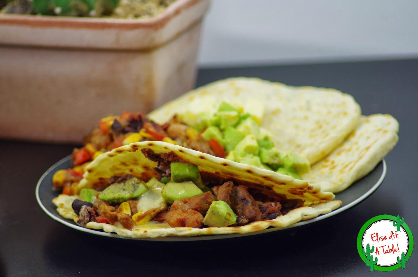 recette Tortillas mexicaine