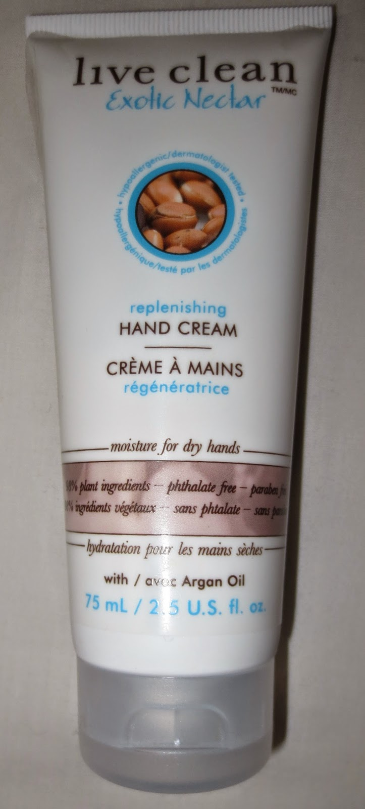 Live Clean Exotic Nectar Replenishing Hand Cream
