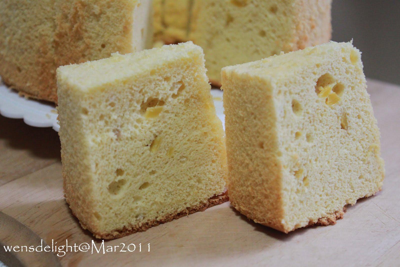 Mango Chiffon Cake Singapore