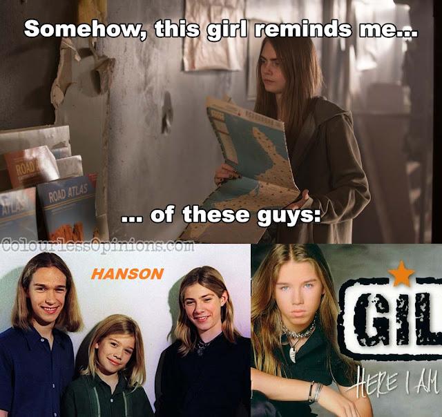 Paper Towns movie meme margo hanson gil ofarim