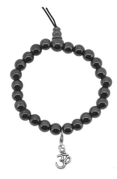 Hematite Prayer Beads Bracelet