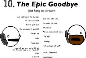 10 .The Epic Goodbye
