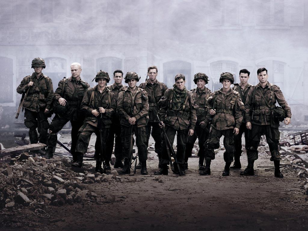 Chiến Hữu ,Biệt Kích Dù, Band of Brothers