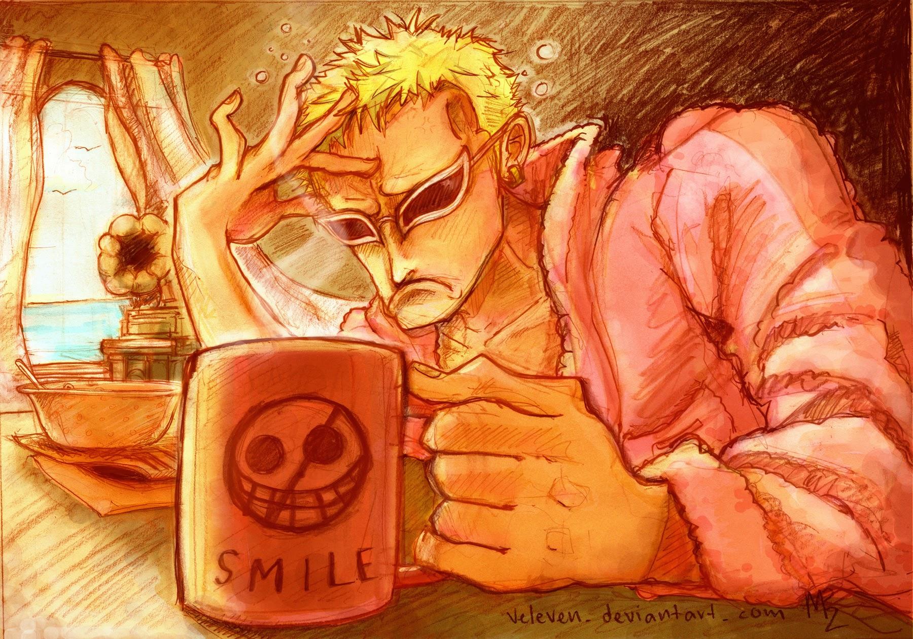 One Piece Chapter 755: Trận chiến của đàn ông 019