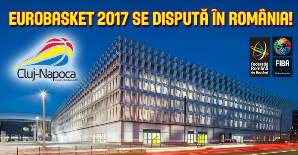 Sala Polivalentă din Cluj va găzdui meciuri de la EuroBasket 2017