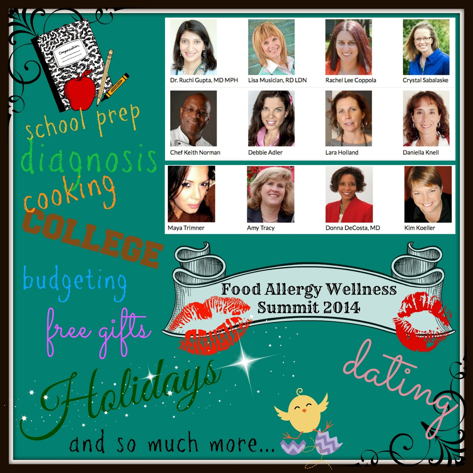 http://mayashappyplace.hubpages.com/hub/Food-Allergy-Wellness-Summit-2014