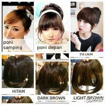 Rambut Poni Hair Clip