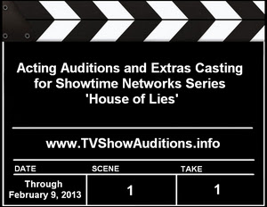 Showtime Networks House of Lies Auditions Casting Calls