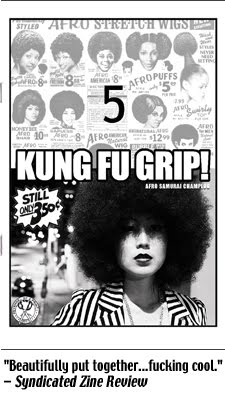 Kung Fu Grip #5: Afro samurai champloo (2011), 56-pages