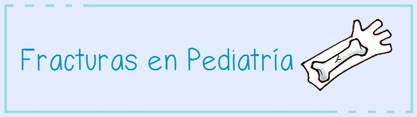Fracturas en Pediatría