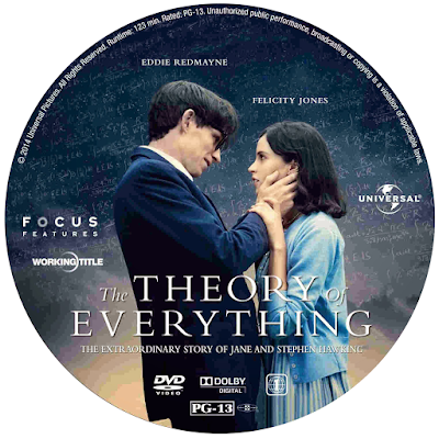 DVD cover for The Theory of Everything.