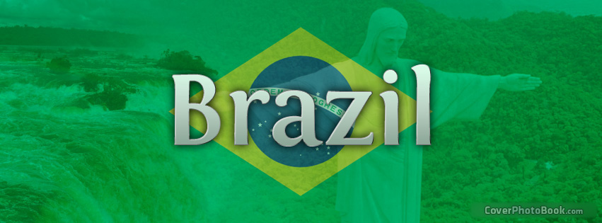 Facebook Timeline COvers: Brazil Flag Cover For Facebook Timeline