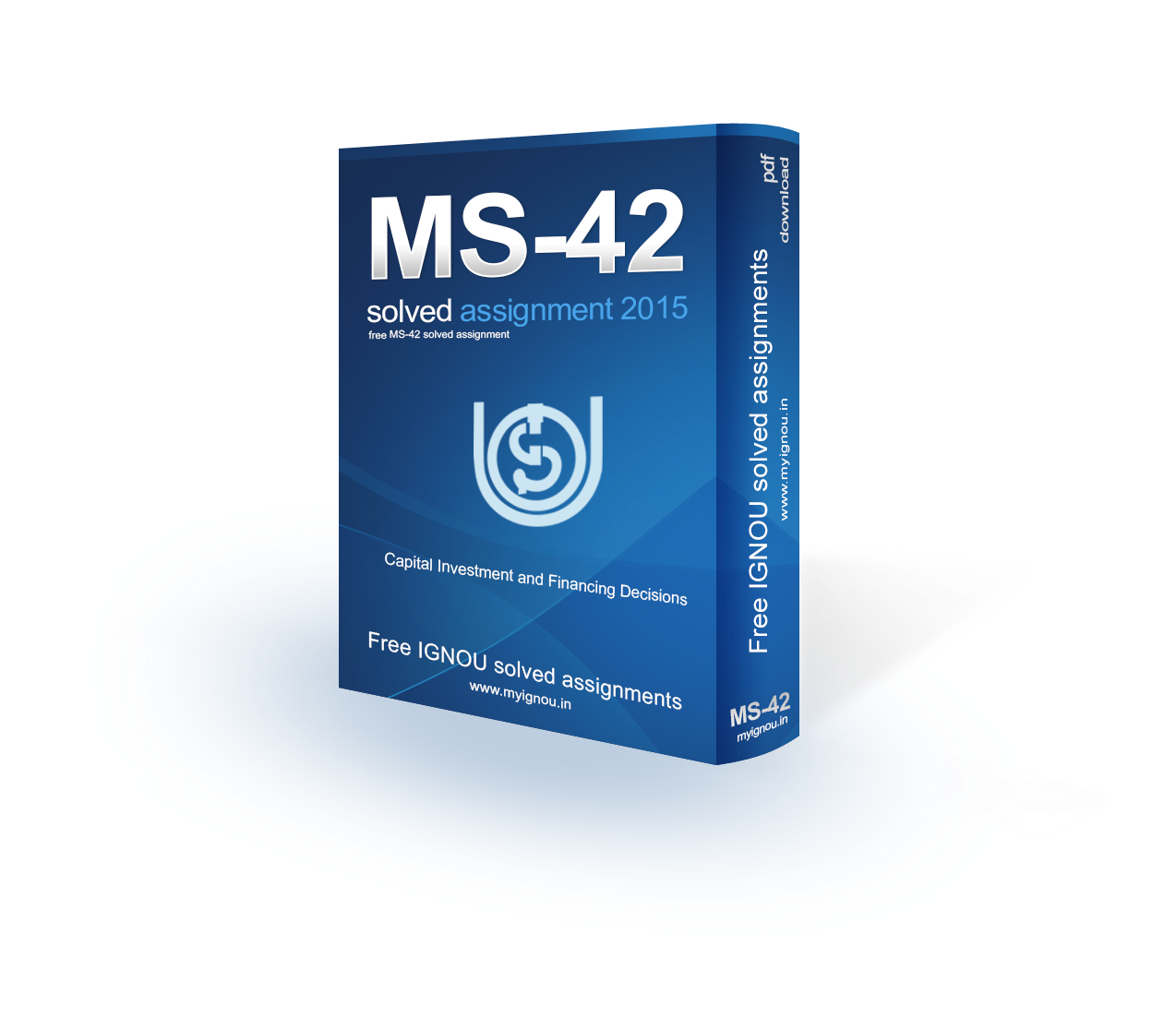 IGNOU MS-42 Solved Assignment 2015