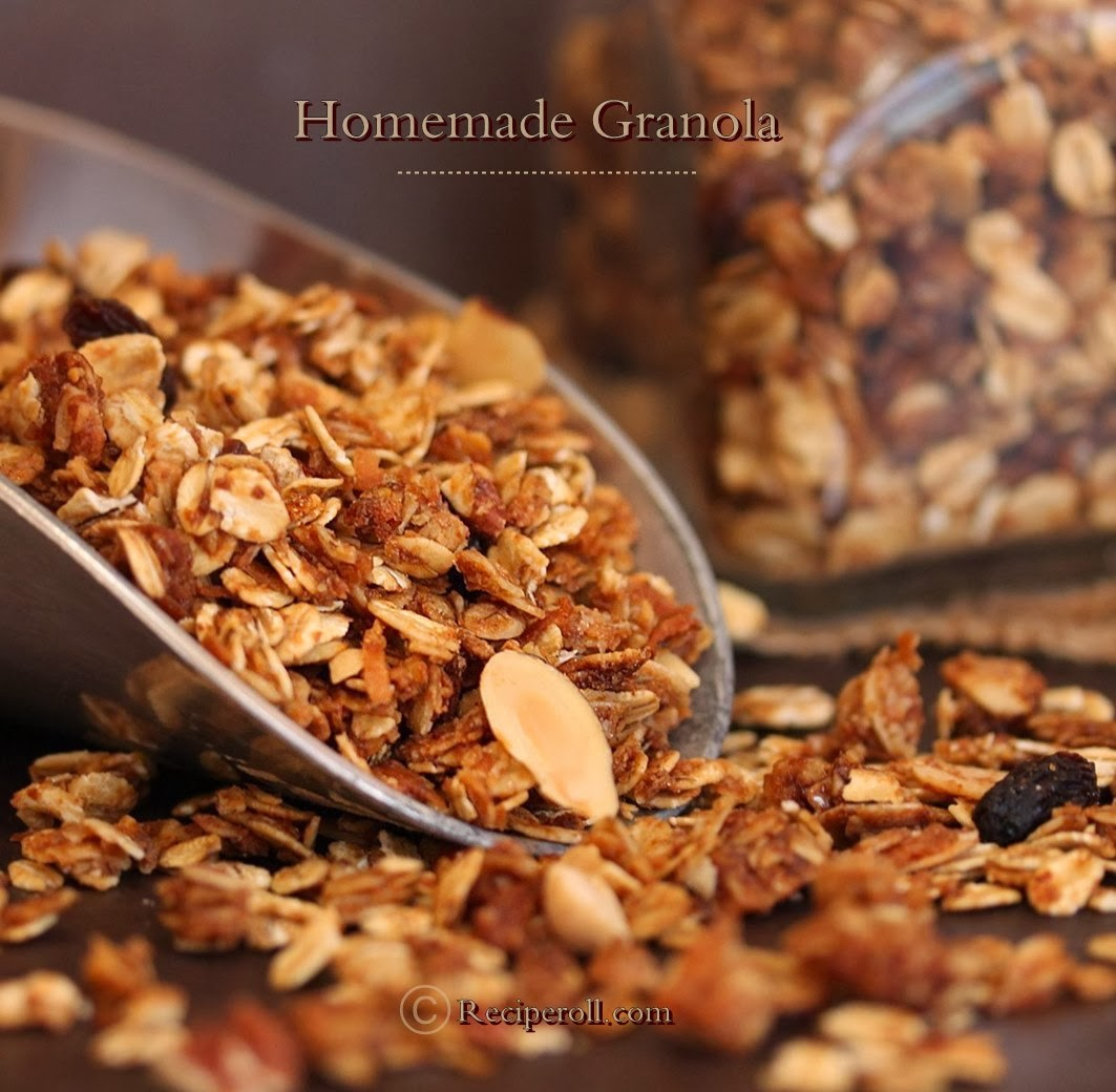homemade granola making granola at home is easy healthy above all save ...