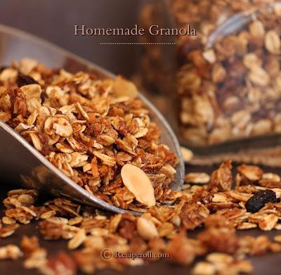 how to make granola at home | maple coconut granola
