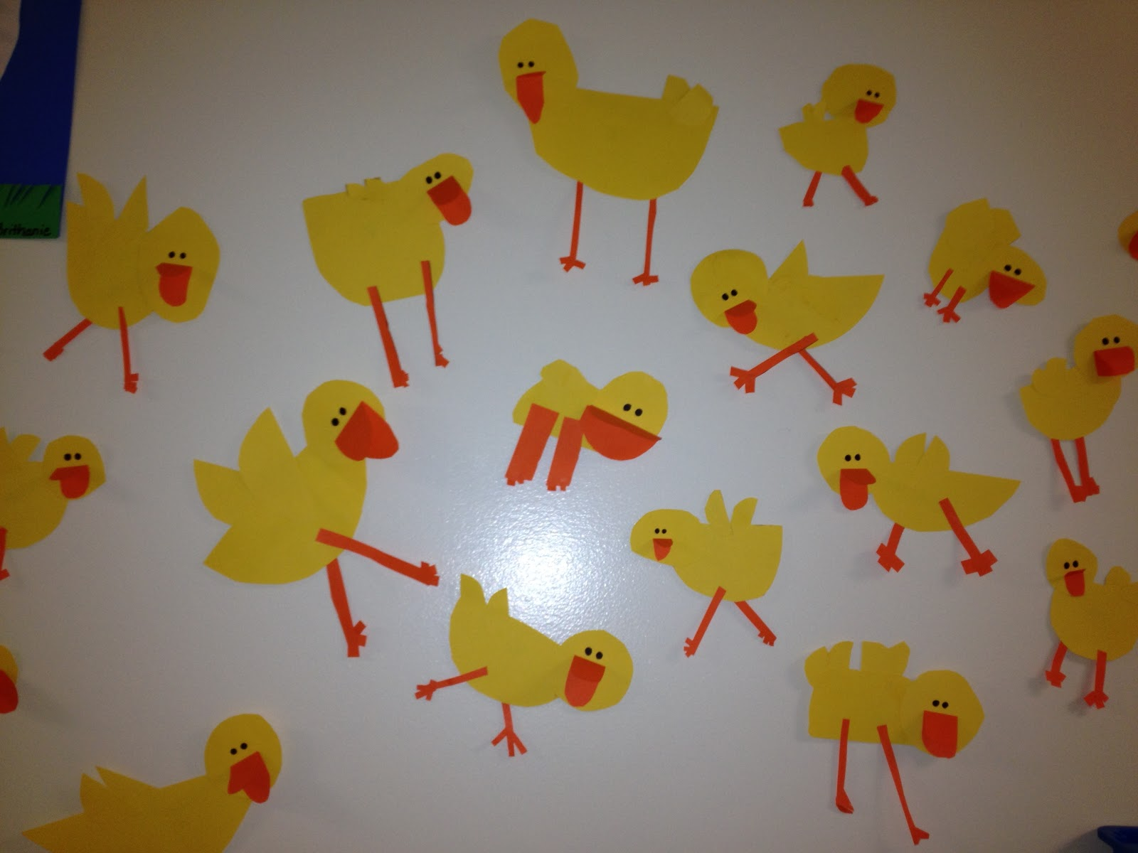 March arts and crafts - Our Grade 2 Teachers Are Just Fabulous When It Comes To Art They Always Have These Cute And Creative Craft Ideas These Days They Are Really Into Chicks