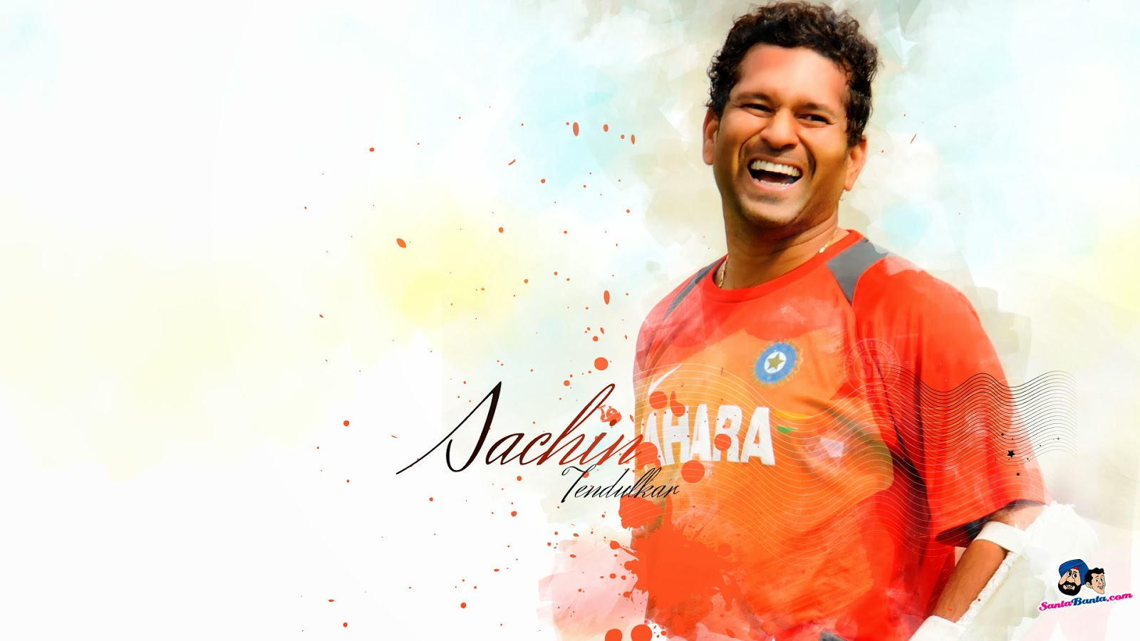 Pencil Drawings of Sachin Tendulkar