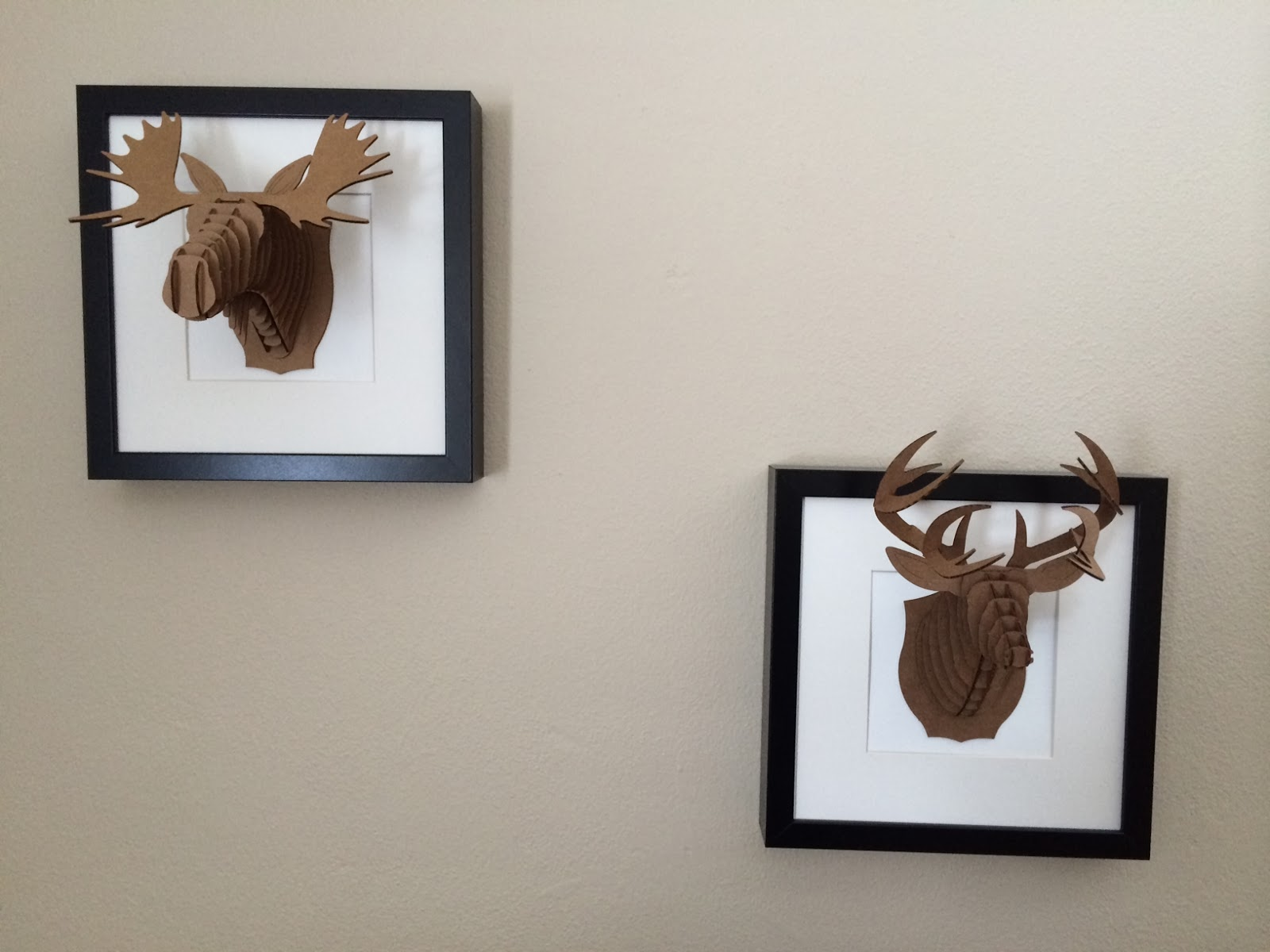 DIY Trophy Head Frames | Nordic By Nature