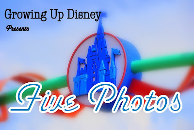 Five Photos Growing Up Disney