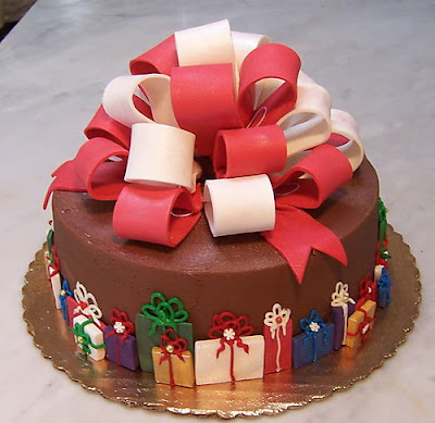 Christmas Cake Decorating Ideas Without Fondant : Coolest Christmas Cakes ~ Extremely weird stuff