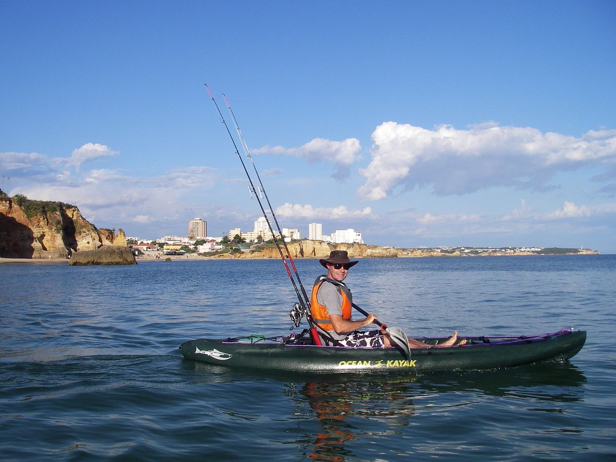 Kayak fishing in the algarve outdoor lda for Randys fishing trips