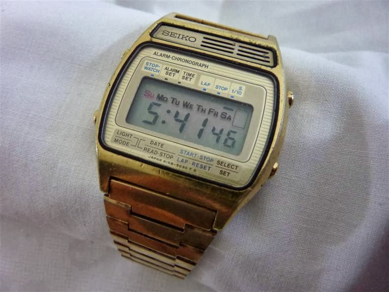 vintage digital watches collectibles coach