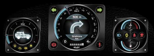 Jeep Digital Gauges : Qnx auto full disclosure releases first