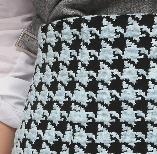 Houndstooth Candy Skirt
