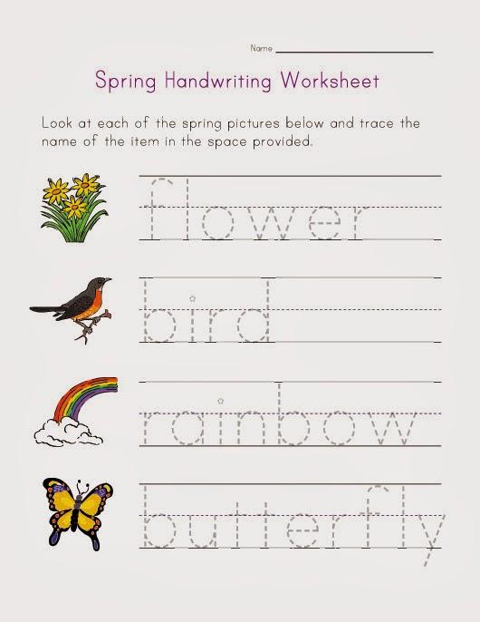 Handwriting Printouts