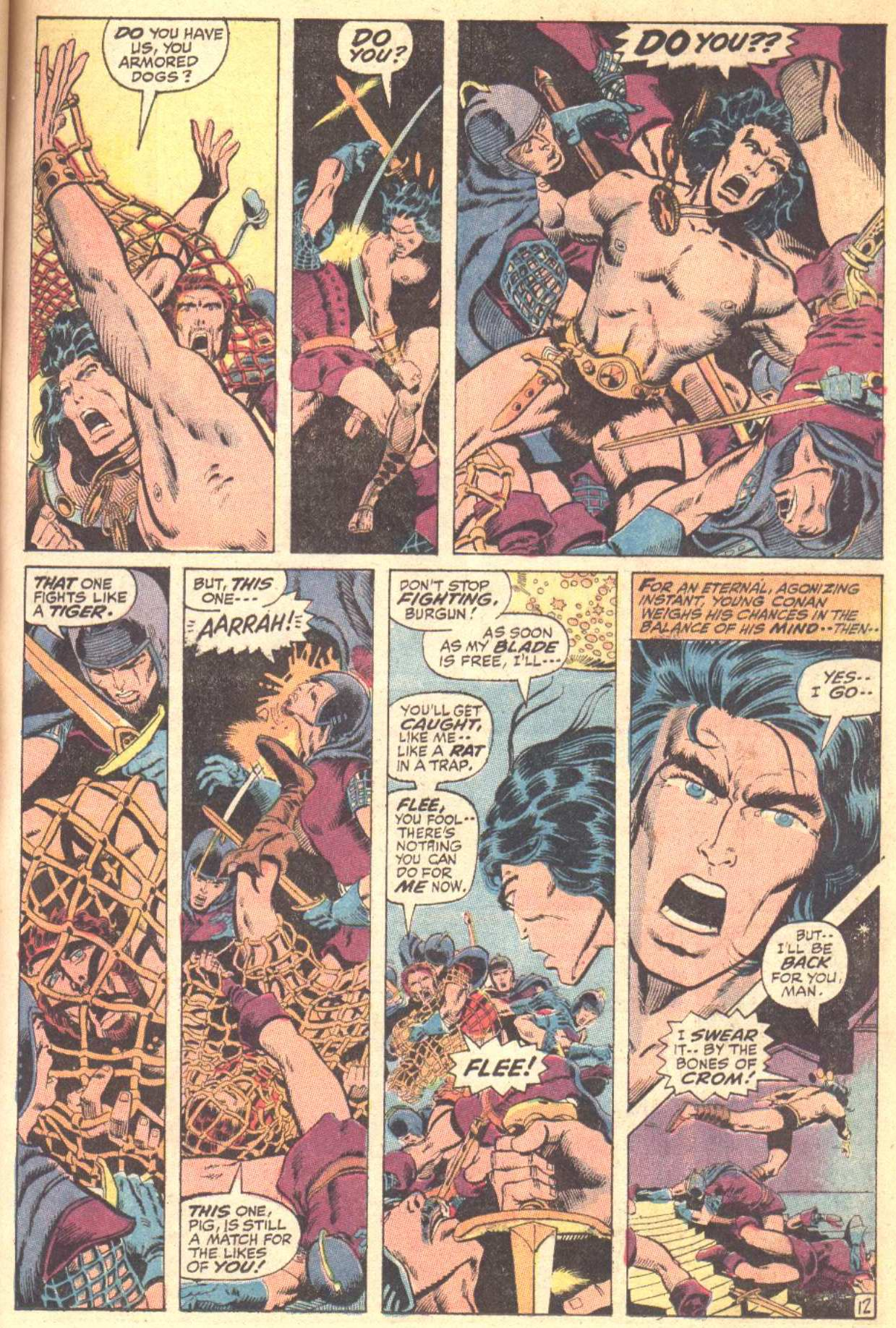 Conan the Barbarian (1970) Issue #10 #22 - English 13