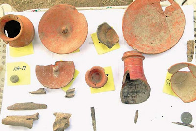 More antiquities discovered in Taxila 