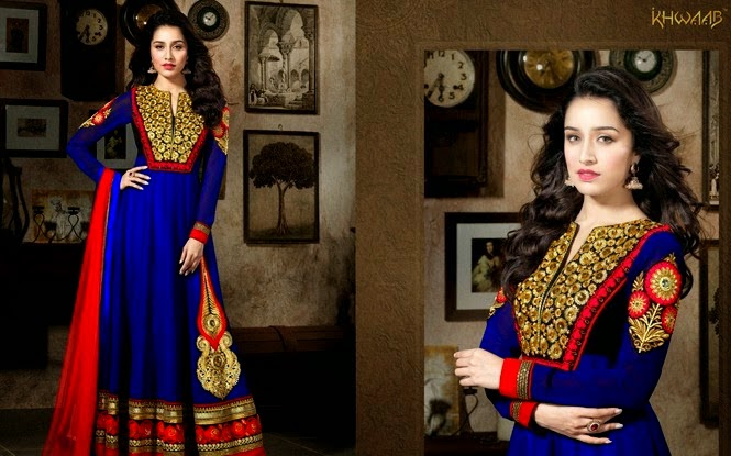 Floor length Anarkali dresses Collection