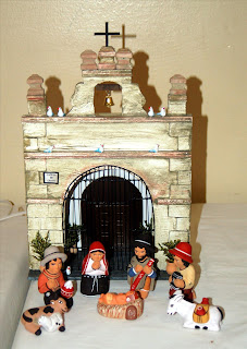 Seasonalpics Manger scene from Peru photo